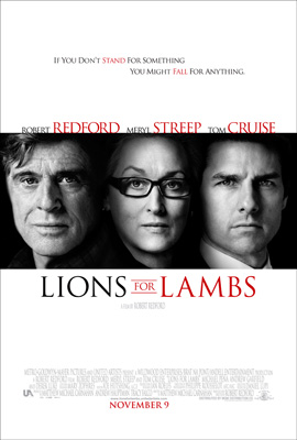 Lions For Lambs EclipseMagazine.com Movie Review