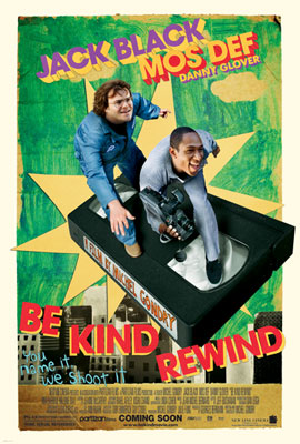 Be Kind Rewind Review EclipseMagaizne.com Movies