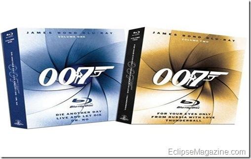 James Bond Blu-ray DVD Collection