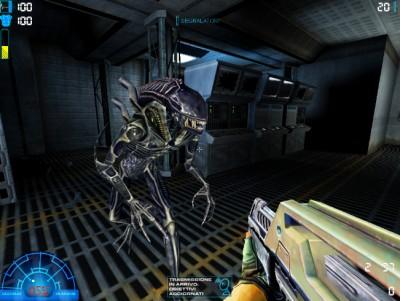 E309 Sega's Aliens vs. Predator Game