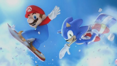 Sega's Mario & Sonic at the Olympic Winter Games™ (Wii, Nintendo DS) –