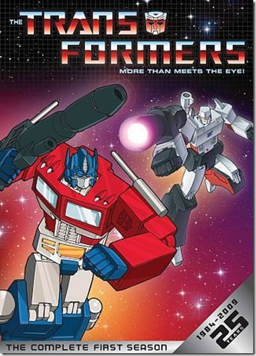 Transformers S1-25 years