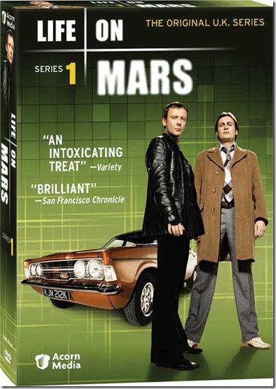 Life on Mars S1 Box