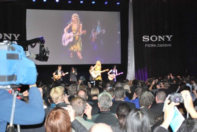 Sony Press Conference Taylor Swift