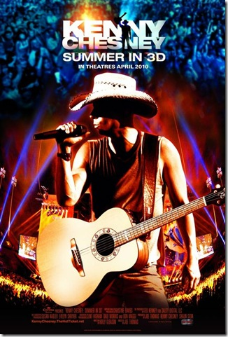 Post image for MOVIE NEWS: Kenny Chesney: Summer in 3D &ndash; Country Enters the 21st Century!