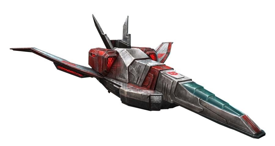 Jetfire in Vehicle Mode