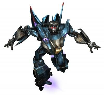 Thundercracker as Robot