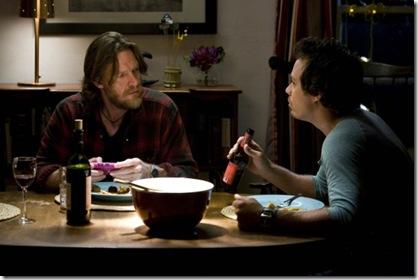 Hank & Britt at dinner