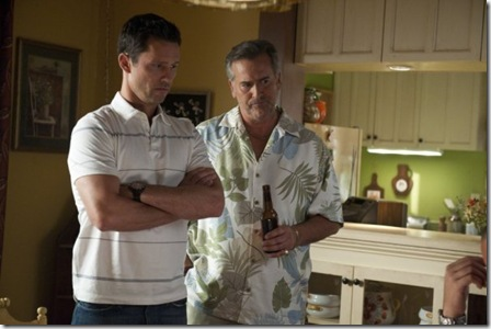 "BURN NOTICE -- ""BLIND SPOT"" Episode 411 -- Photo by: Glenn Watson/USA Network"