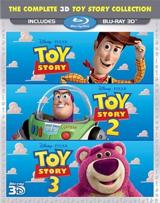 Toy Story 3D Blu-ray Collection Review