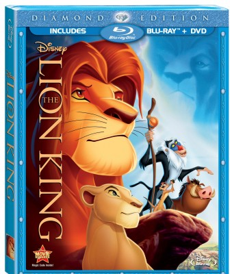 The Lion King Blu-ray Combo Pack Giveaway