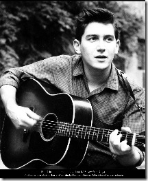 Phil Ochs in his first publicity shot (1963, New York City).<br /> &quot;Phil Ochs: There but for Fortune&quot;, a film by Kenneth Bowser. A First Run Features release.