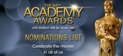 84th Academy Awards Nominations