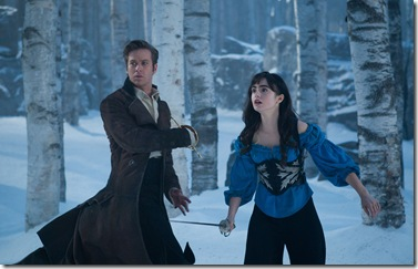 Armie Hammer and Lily Collins star in Relativity Media's &quot;Mirror Mirror&quot;. 