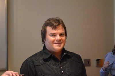 Jack Black at Bernie NY Press Day - Photo Credit: Michelle Alexandria