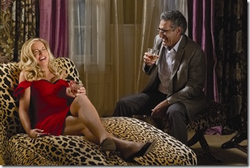 """Stifler's Mom (JENNIFER COOLIDGE) and Jim's Dad (EUGENE LEVY) finally meet in """"American Reunion"""".  In the comedy, all the """"American Pie"""" characters we met a little more than a decade ago return to East Great Falls for their high-school reunion."""