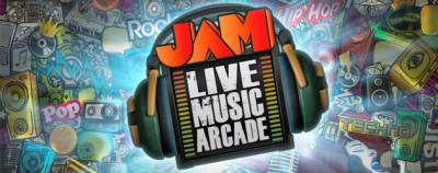 Jam Live Music Arcade logo
