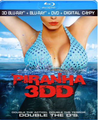 Piranha 3DD Blu-ray 3D Review