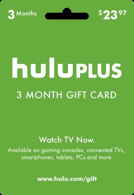 Hulu Plus Gift Card