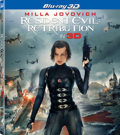 Resident Evil: Retribution 3D Blu-ray Review