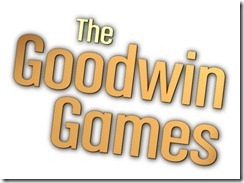 THE GOODWIN GAMES: Logo.
