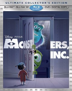 Monsters, Inc 3D Blu-ray Review