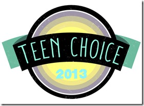 TEEN CHOICE:  TEEN CHOICE 2013 logo.