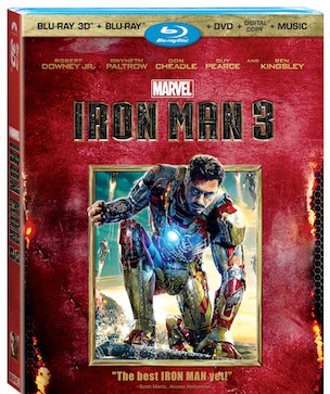 Iron-Man 3 Blu-ray