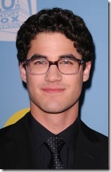 GLEE: FOX PRESENTS AN EVENING WITH GLEE: Darren Criss arrives for a screening and panel discussion with the cast and Executive Producer's of GLEE at the Leonard H. Goldenson Theatre on Tuesday, May 1.  ©2012 Fox Broadcasting Co.  Cr: Scott Kirkland/PictureGroup for Fox.