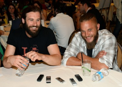 Vikings - Clive Standen and Travis Fimmel