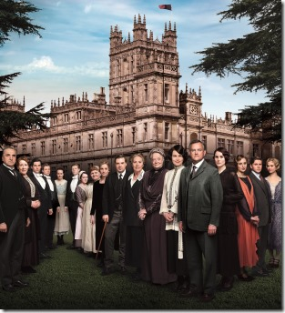 Downton Abbey Season 4 Sundays, January 5 – February 23, 2014 On MASTERPIECE on PBS  Season 4 of the international hit Downton Abbey finds aristocrats and servants coping with last season's shocking finale. The acclaimed ensemble is back, including Dame Maggie Smith, Elizabeth McGovern, Hugh Bonneville, Michelle Dockery, Jim Carter,  Penelope Wilton, and Laura Carmichael—together with returning guest star Academy Award®-winner Shirley MacLaine and new guest star Paul Giamatti.  © Carnival Film and Television Limited 2013 for MASTERPIECE