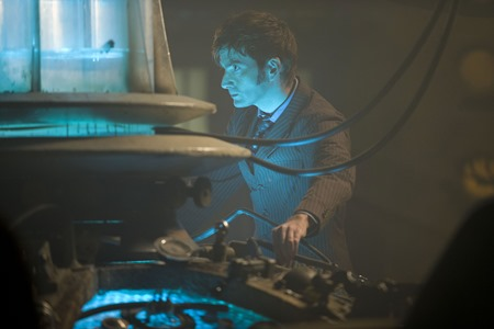 Picture shows DAVID TENNANT as the Tenth Doctor in the 50th Anniversary Special - The Day of the Doctor