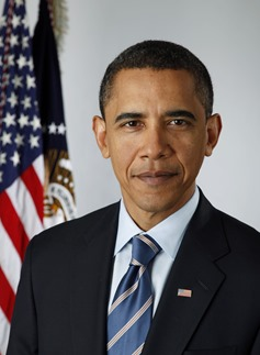 Official portrait of President-elect Barack Obama on Jan. 13, 2009.