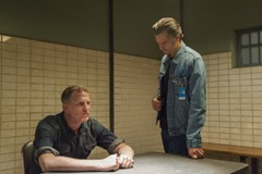 "JUSTIFIED -- ""The Toll"" -- Episode 511 (Airs Tuesday, March 25, 10:00 pm e/p -- Pictured: (L-R) Michael Rapaport as Darryl Crowe, Jr., Timothy Olyphant as Deputy U.S. Marshal Raylan Givens -- CR: Prashant Gupta/FX"