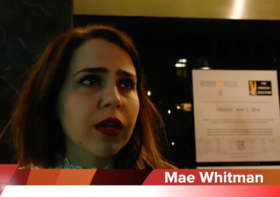 Mae-Whitman from ParentHood