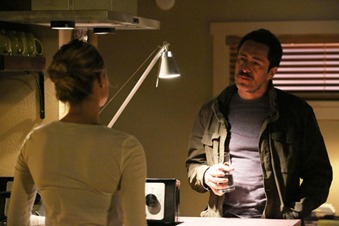 "THE BRIDGE - ""Ghost of a Flea"" - Episode 2 (Airs, Wednesday, July 16, 10:00 pm e/p) Pictured: (L-R) Diane Kruger as Sonya Cross, Demian Bichir as Marco Ruiz. CR: Byron Cohen/FX Network"