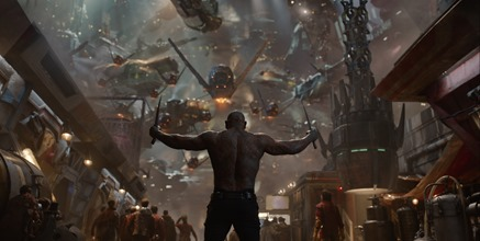 Marvel's Guardians Of The Galaxy  Drax the Destroyer (Dave Bautista)  Ph: Film Frame  ©Marvel 2014