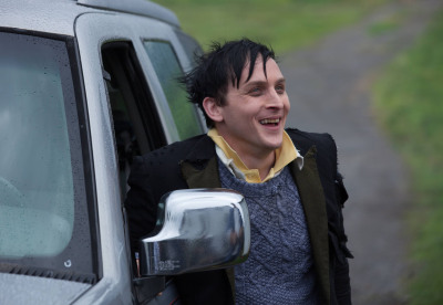 "GOTHAM: Oswald Cobblepot (Robin Lord Taylor) finds temporary lodging in the ""Selina Kyle"" episode of GOTHAM airing Monday, Sept. 29 (8:00-9:00 PM ET/PT) on FOX. ©2014 Fox Broadcasting Co. Cr: Jessica Miglio/FOX"