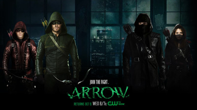 Arrow Season Three Banner 10-05-14