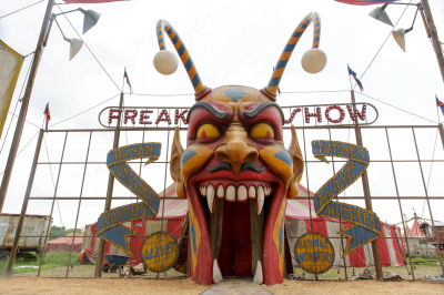 Freak Show Entrance - 10-07-14