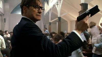 Badass Colin Firth