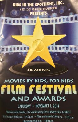 Kids In The Spotlight Awards Show 11-2-14
