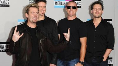 Nickelback No Fixed Address red carpet 11-6-14