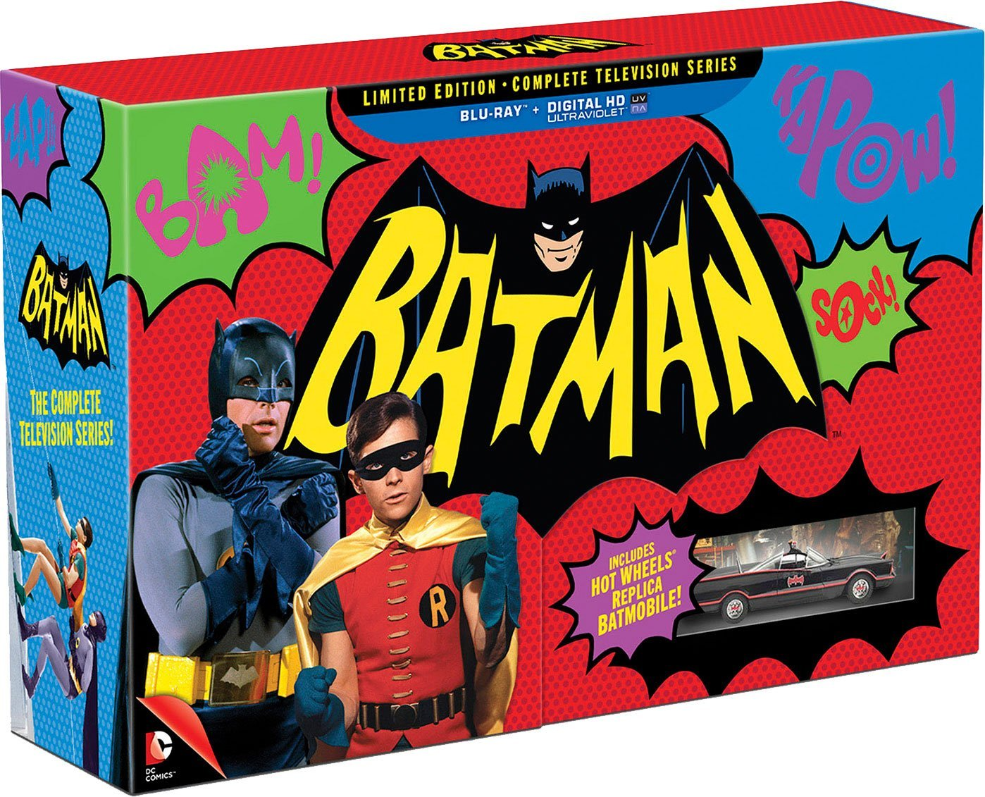 blu ray review batman the complete tv series is. Black Bedroom Furniture Sets. Home Design Ideas