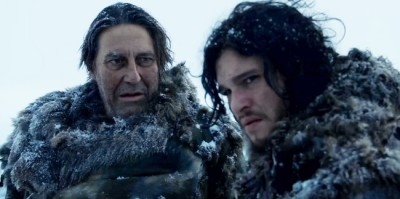 Game of Thrones - Mance Rayder & Jon Snow