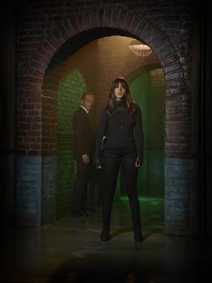 "MARVEL'S AGENTS OF S.H.I.E.L.D. - ABC's ""Marvel's Agents of S.H.I.E.L.D."" stars Clark Gregg as Agent Phil Coulson and Chloe Bennet as Skye. (ABC/Florian Schneider)"