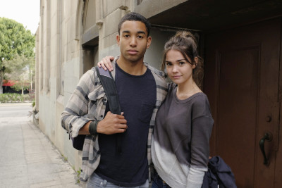 """THE FOSTERS - """"Wreckage"""" - In the season premiere, summer has brought many changes for the Adams Foster family. (ABC Family/Tony Rivetti) TOM WILLIAMSON, MAIA MITCHELL"""