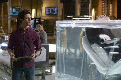 """STITCHERS - """"The Stitcher in the Rye"""" - Kirsten stitches into the chaotic memories of a conspiracy theorist in an all-new episode of """"Stitchers,"""" airing Tuesday, June 30, 2015 at 9:00PM ET/PT on ABC Family. (ABC Family/Eric McCandless) KYLE HARRIS"""
