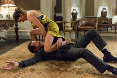 Rebecca Ferguson plays Ilsa in Mission: Impossible – Rogue Nation from Paramount Pictures and Skydance Productions