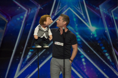 """AMERICA'S GOT TALENT -- """"Los Angeles Auditions"""" Dolby Theater -- Pictured: Paul Zerdin -- (Photo by: Isabella Vosmikova/NBC)"""